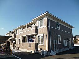 東京都武蔵村山市神明1丁目の賃貸アパートの外観