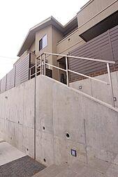 福岡県福岡市中央区平和3丁目の賃貸アパートの外観