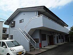 静岡県富士市平垣の賃貸アパートの外観