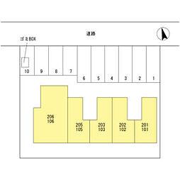 コーポトゥインクル[1階]の外観