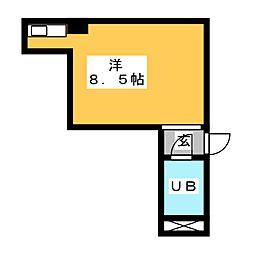 エクセルアビタシオン[6階]の間取り