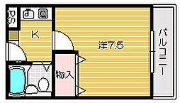 パークONE[3階]の間取り