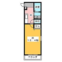 ファンロジュマンII[3階]の間取り