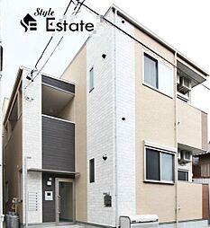 愛知県名古屋市中村区大秋町4丁目の賃貸アパートの外観