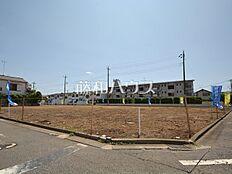 現場風景(北側) 調布市八雲台1丁目