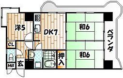 トーカンマンション高炉台公園[3階]の間取り
