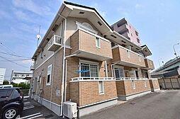 福岡県福岡市東区松島6丁目の賃貸アパートの外観