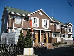 福岡県古賀市花見東1の賃貸アパートの外観
