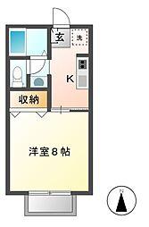 Mikiハウス[2階]の間取り