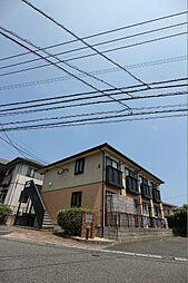 シャトーK安部山 A棟[203号室]の外観