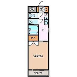 パーソナルハウス嶋[1階]の間取り