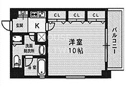 SHICATA ONZE BLDG[404号室号室]の間取り