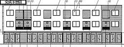 下之城町アパート[1階]の外観