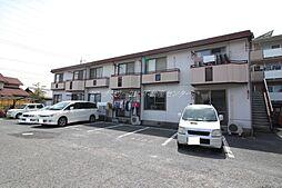 岡山県岡山市南区芳泉2丁目の賃貸アパートの外観