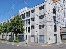 北海道札幌市西区発寒三条6丁目の賃貸マンションの外観