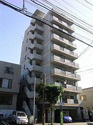 北海道札幌市豊平区豊平八条8丁目の賃貸マンションの外観