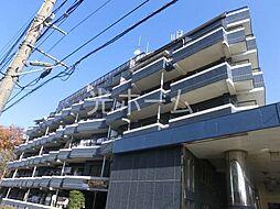 東京都清瀬市中里6丁目の賃貸マンションの外観