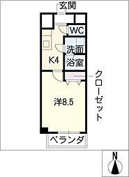 セレブランド堀田駅前[10階]の間取り