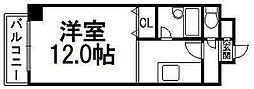 コスモス東札幌[306号室]の間取り