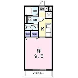 プチ・アロ−ジョ[0201号室]の間取り
