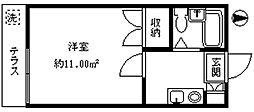 ライフピアM&N[102号室]の間取り