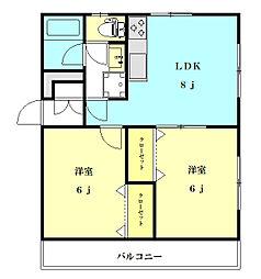 laplage III[305号室号室]の間取り