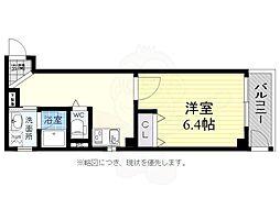 JR東海道・山陽本線 神戸駅 徒歩10分の賃貸マンション 1階1Kの間取り