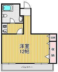 SAKAI-BM南堀江[7階]の間取り