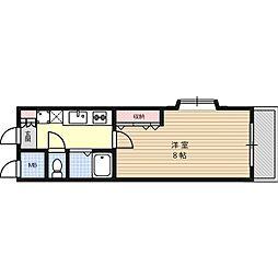 中村ハイツII号館[3階]の間取り