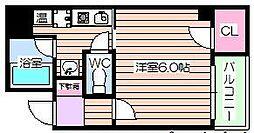 桂sTENROKU[5階]の間取り
