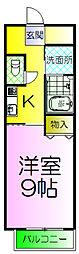 サザンクレスト堺[6階]の間取り