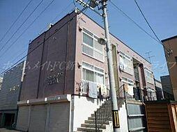 北海道札幌市東区北四十条東7の賃貸アパートの外観