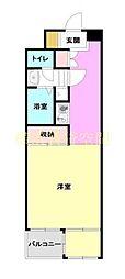 コージーハウス横浜南[4階]の間取り
