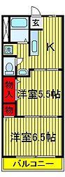 藤枝マンション[505号室]の間取り