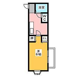 SEZON9[1階]の間取り