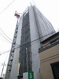 クローバーグランツ阿倍野[6階]の外観
