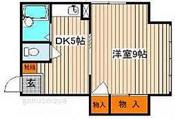 藤山ビル[3階]の間取り