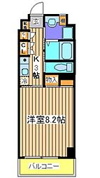 サンロレンツ心斎橋東[6階]の間取り