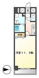 CASSIA錦本町通(旧スタジオスクエア錦)[6階]の間取り