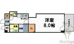 フォレスト梅田西[11階]の間取り