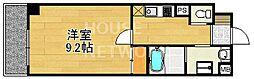 アウスレーゼ下鴨[305号室号室]の間取り