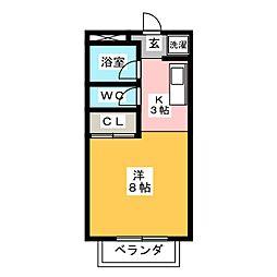 ラフォーレ・N[2階]の間取り