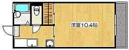 MIIスターマンション[305号室]の間取り