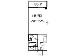 タイヨウマンション[1階]の間取り