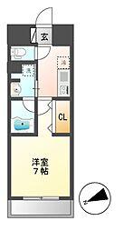 joule亀島[4階]の間取り