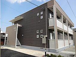 広島県福山市草戸町5丁目の賃貸アパートの外観
