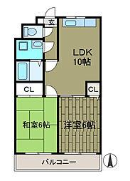 第一SKビル[4階]の間取り