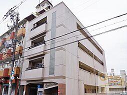 長居ハザマコーポ[4階]の外観