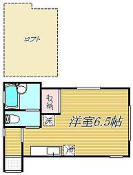 アルドゥール[2階]の間取り