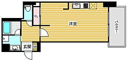 インペリアル新神戸[4階]の間取り